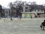 スポーツ教室大会 会場等々力 vs砧南