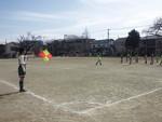2013初蹴り 1年生チーム 審判しょうた(&りょうた)