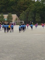 2013/09/23 1,2年生公式戦 ×烏山北