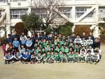 2013初蹴り コーチ子供達