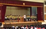 U10 2014 朝礼で表彰式
