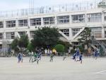 8月25日等々力小G1・2年生練習試合VS大岡山FC